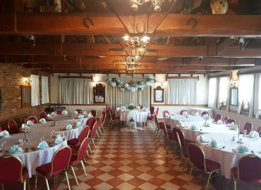 izgled sale za proslave Dvorana u prizemlju / Rustika restorana Taverna Kraljevec