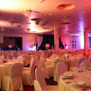 izgled svadbene dvorane, sale za svadbe u restoranu Taverna Kraljevec panorama
