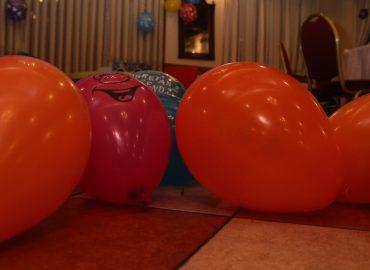 baloni za rodendan u sali za proslave rodendana u restoranu Taverna Kraljevec