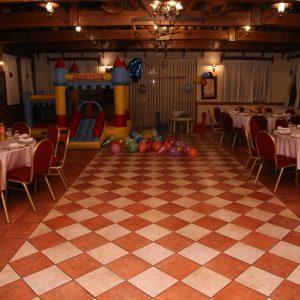 izgled sale za proslave Dvorana u prizemlju / Rustika restorana Taverna Kraljevec nize slikano